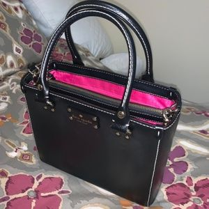 Kate Spade Small Wellesley Quinn Leather Satchel